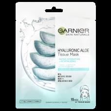 Garnier Skin Naturals Tissue Mask Aloe superhydratační a revitalizační textilní maska