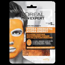 L'Oréal Paris Men Expert Hydra Energetic textilní maska