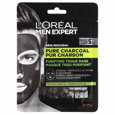 L'Oréal Paris Men Expert Pure Charcoal textilní pleťová maska