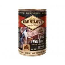 Konz.Carnilove Wild Meat Lamb&Wild Boar 400g