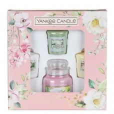 Yankee Candle Dárková sada 3 votivních svíček a 1 svíčky malé