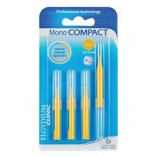 ELGYDIUM Mezizubní kartáčky žluté Mono Compact (2,5-2,2 mm)