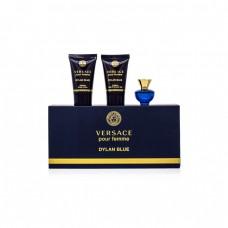 Versace Pour Femme Dylan Blue - EDP 5 ml + tělové mléko 25 ml + sprchový gel 25 ml