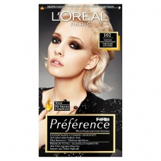 L'Oréal Paris Féria Préférence velmi světlá blond duhová 102