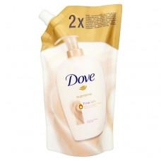 Dove Supreme Fine Silk zkrášlující krémové tekuté mýdlo náhradní náplň