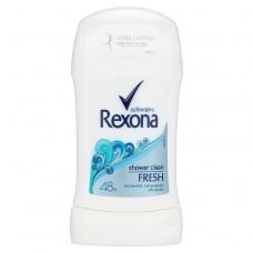 Rexona Women Fresh Shower Clean tuhý antiperspirant