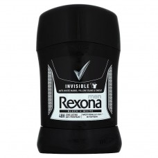 Rexona Men Invisible Black+White tuhý antiperspirant pro muže