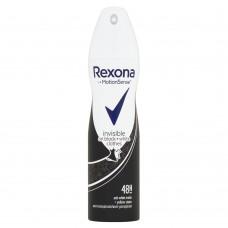 Rexona invisible on black+white clothes antiperspirant sprej