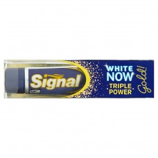 Signal White now gold zubní pasta