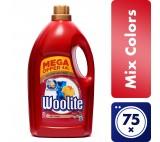 Woolite Mix Colors s keratinem XXL tekutý prací prostředek na barevné prádlo, 75 praní