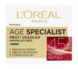 L'Oréal Paris Age Specialist, zpevňující denní péče proti vráskám