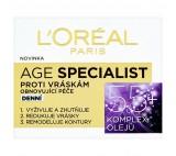 L'Oréal Paris Age Specialist, obnovující denní péče proti vráskám 55+