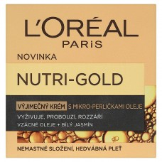 L'Oréal Paris Nutri-Gold, výjimečný krém s mikro-perličkami oleje