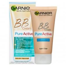 Garnier Skin Naturals Pure Active 5v1, BB krém