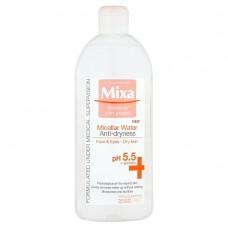 Mixa Sensitive Skin Expert, micelární voda proti vysušování pleti