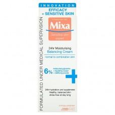 Mixa Sensitive Skin Expert 24 h, lehký vyvažující hydratační krém