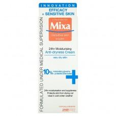Mixa Sensitive Skin Expert 24 h, vyživující krém proti vysušování pleti