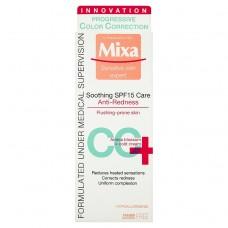 Mixa Sensitive Skin Expert CC+ zklidňující péče proti začervenání s OF 15