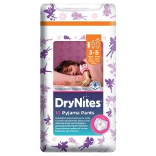 HUGGIES® DryNites 3-5 Girl Convenience 4-9 kg
