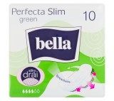Bella Perfecta Slim Green Hygienické vložky s křidélky