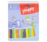 Bella Baby Happy 1 Newborn jednorázové plenky 2-5 kg