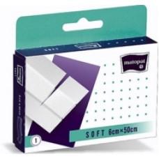 Matopat soft netkaná náplast s polštářkem na stříhání 6 cm x 50 cm