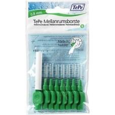 TEPE Mezizubní kartáčky 0,8 mm Normal-zelený