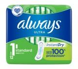 Always Ultra Standard Hygienické vložky bez křidélek