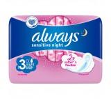Always Ultra Sensitive Night vložky s křidélky