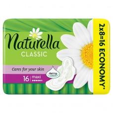 Naturella Camomile Classic maxi hygienické vložky s jemnou vůní