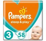 Pampers Sleep&Play plenky 3 (6 - 10 kg)