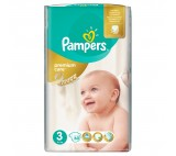 Pampers Premium Care pleny 3 Midi, 5-9 kg