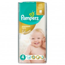Pampers Premium Care pleny 4 Maxi, 8-14 kg