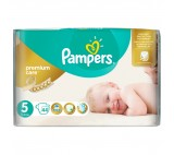 Pampers Premium Care pleny 5 Junior, 11-18 kg
