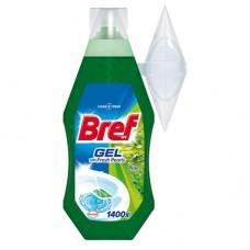 Bref Fresh Pearls WC gel, borovice