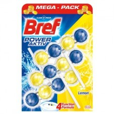 Bref Power Aktiv WC blok, Lemon
