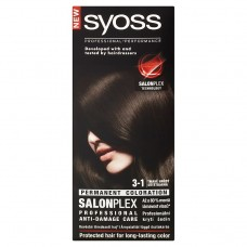 Syoss barva na vlasy Tmavě Hnědý 3-1