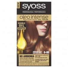 Syoss Oleo Intense barva na vlasy Oříškově Plavý 6-80