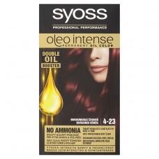 Syoss Oleo Intense barva na vlasy Burgundská červeň 4-23