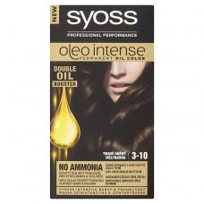Syoss Oleo Intense barva na vlasy Tmavě hnědý 3-10