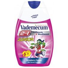 Vademecum 2v1 zubní pasta Junior - Jahoda