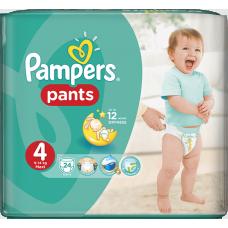 Pampers plenkové kalhotky 4 Maxi, 9-14 kg