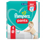 Pampers Pants plenkové kalhotky 4 (9 - 15 kg)