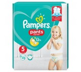 Pampers plenkové kalhotky 5 Junior, 12-18kg