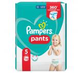 Pampers Pants plenkové kalhotky 5 (12 - 17kg)