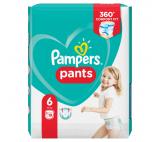 Pampers Pants plenkové kalhotky 6 (15+ kg)