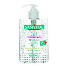 Sanytol Dezinfekční gel na ruce s přírodním zeleným čajem