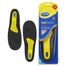 Scholl GelActiv Work gelové vložky do bot pro muže