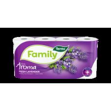 Tento Family toaletní papír parfemovaný s vůní levandule 2vrstvý
