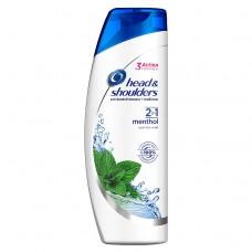 Head & Shoulders Menthol 2v1 Šampon Proti Lupům